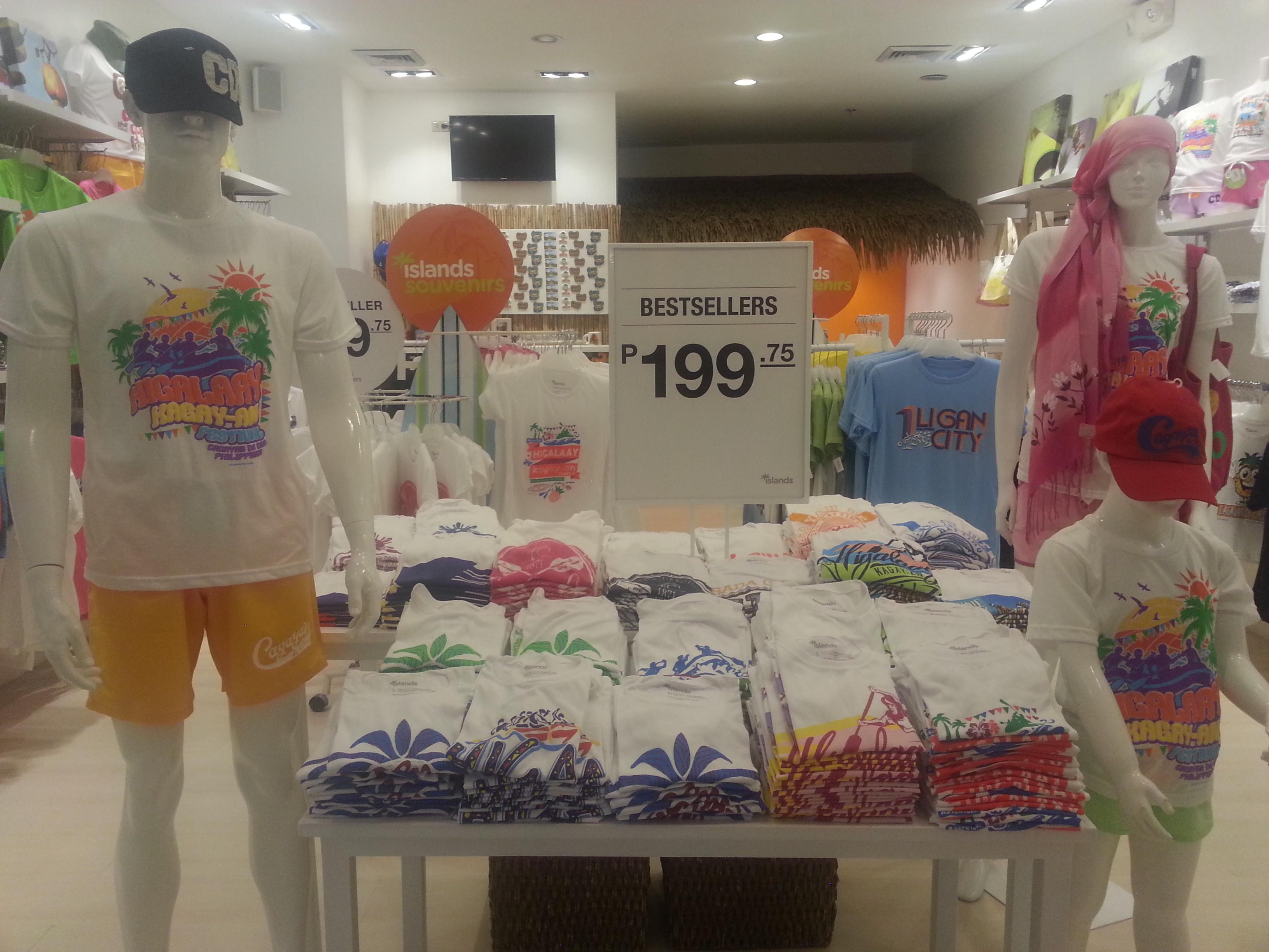 "Giveaway: Islands Souvenirs Higalaay Festival and ""I Heart CDO"" shirts"