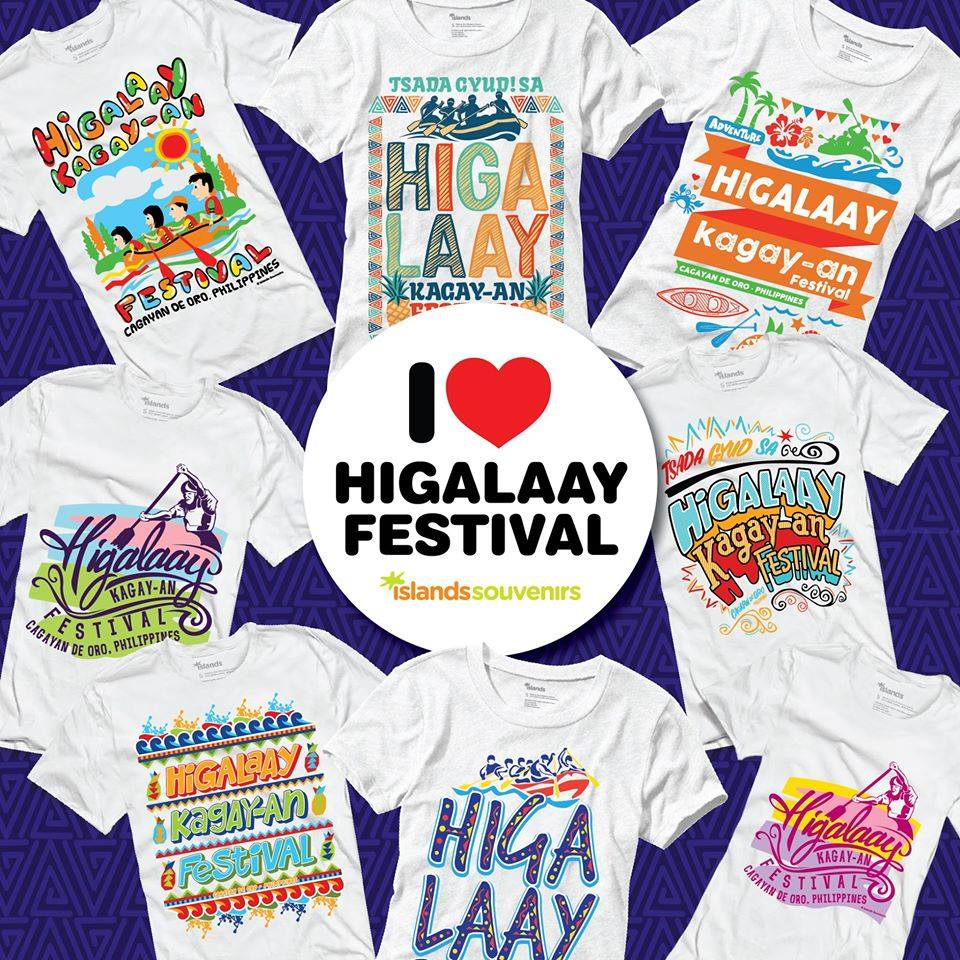 Cool, affordable Higalaay Festival shirts from Islands Souvenirs