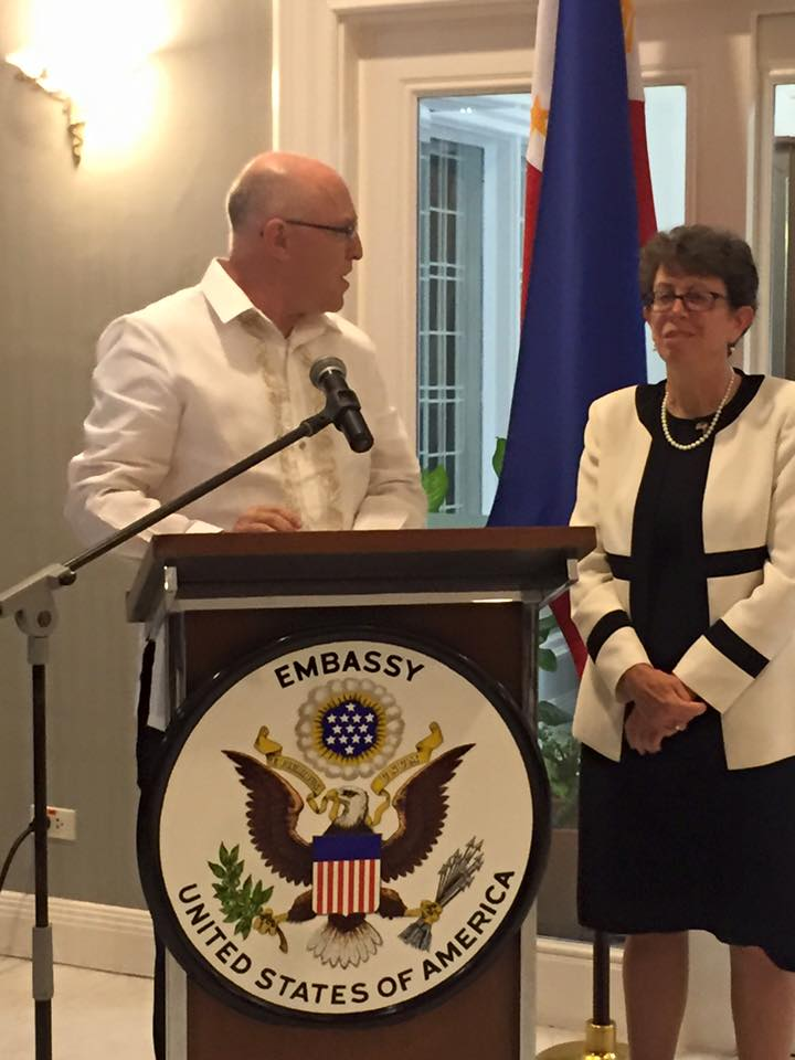 Meeting the new US Embassy Manila Counselor for Public Affairs