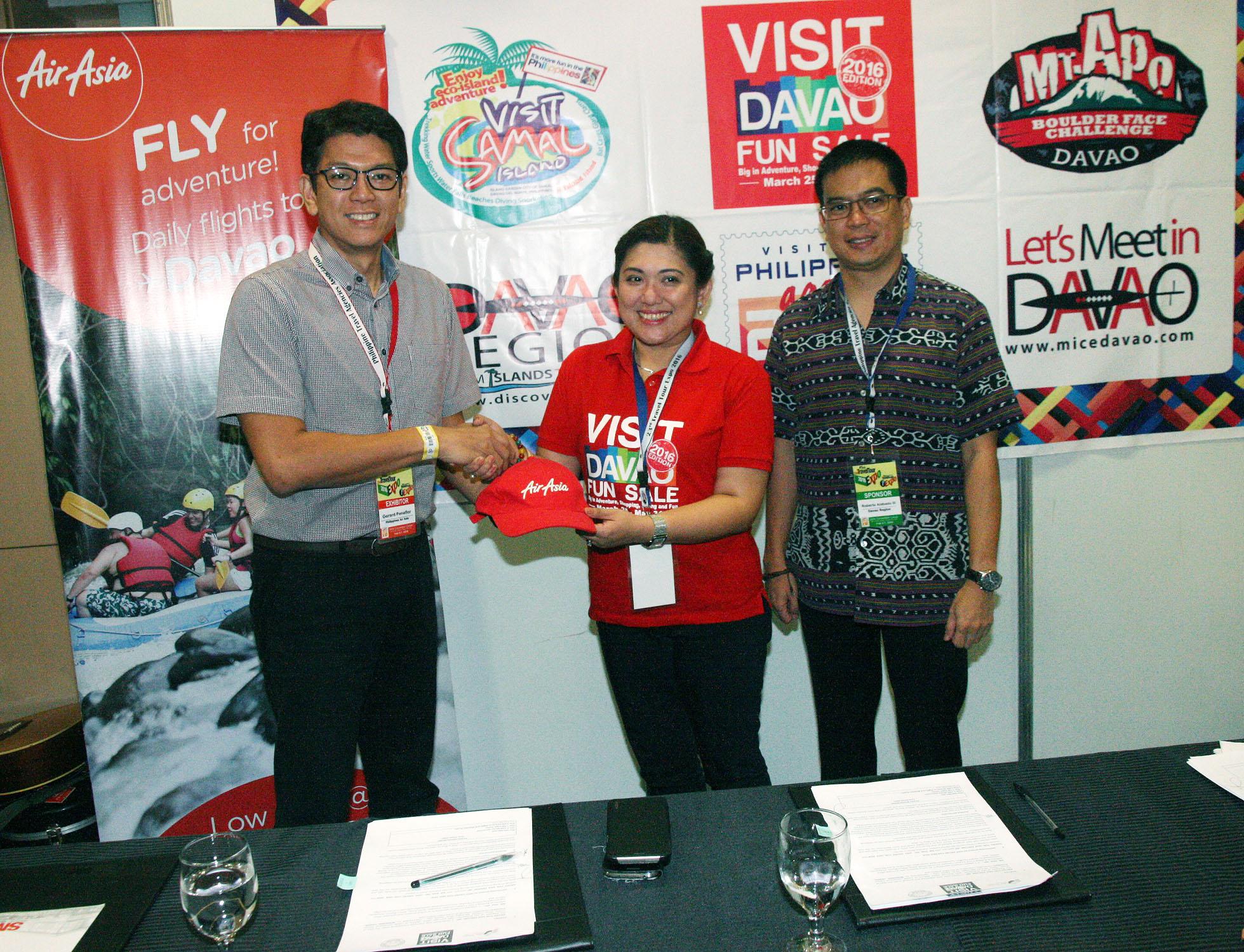 AirAsia, Davao tourism partner for Visit Davao Fun Sale 2016