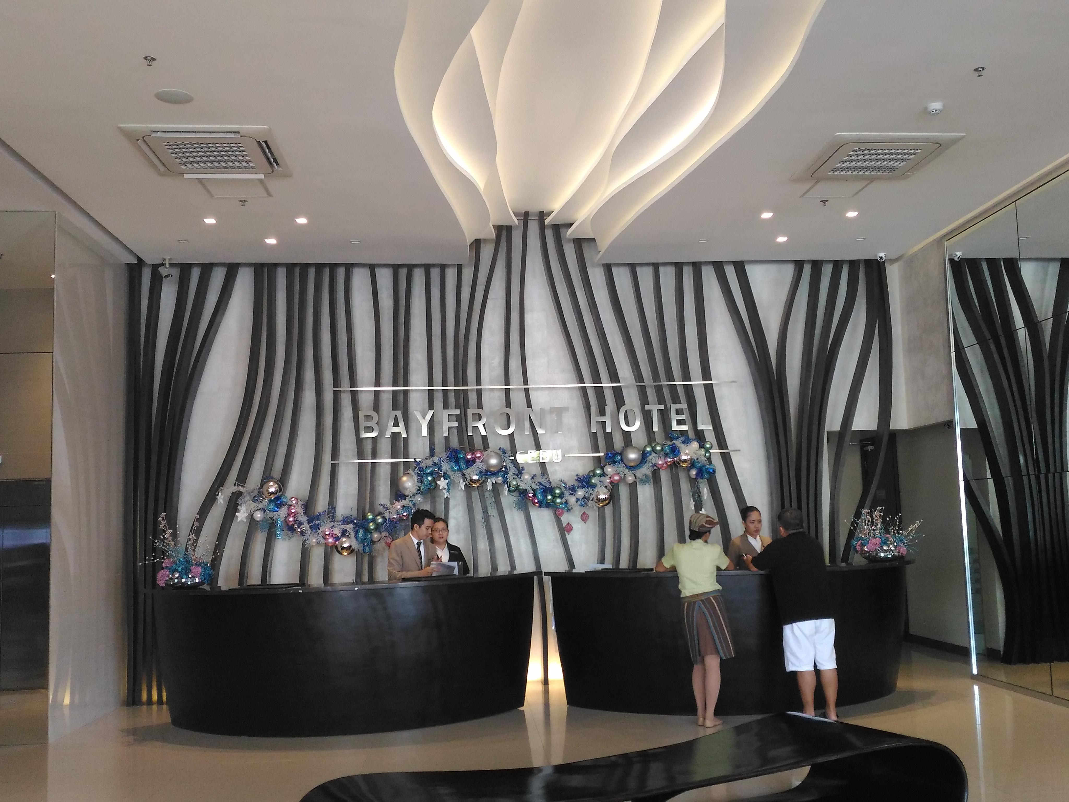 Where to stay in Cebu: Bayfront Hotel Cebu