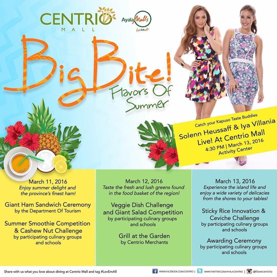 Big Bite 2016 to showcase Northern Mindanaoan food