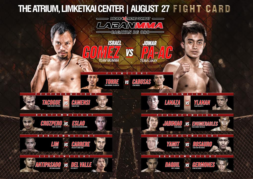 Action packed Laban MMA fights this Cagayan de Oro fiesta