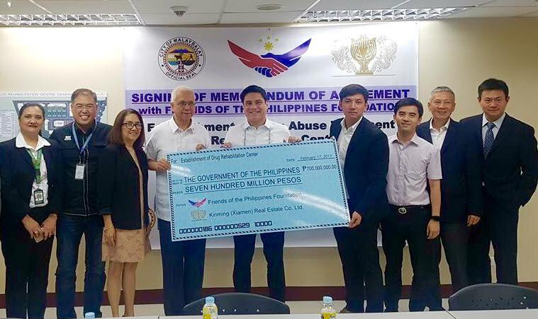 P700M drug rehab center to rise in Bukidnon