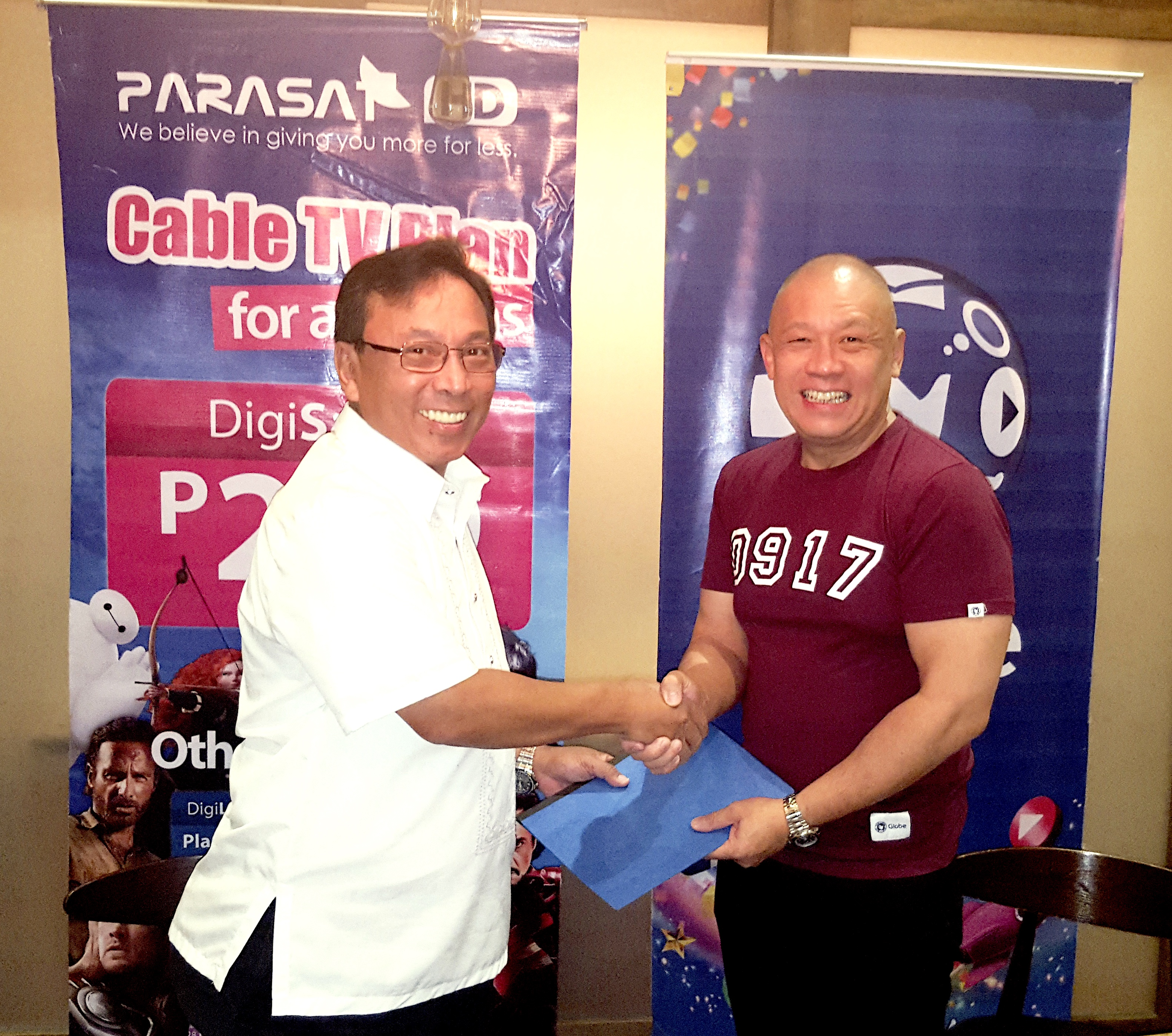 Mindanao's Parasat Cable TV boosts service with Globe Business