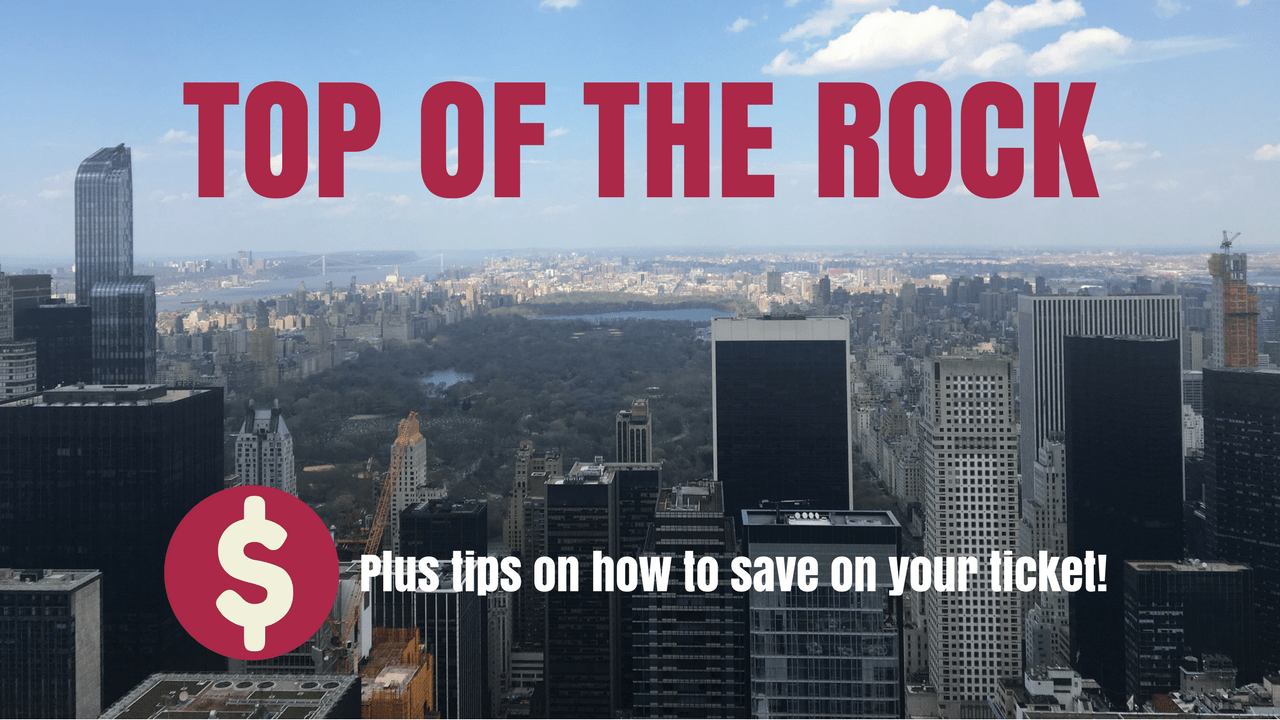 Top of the Rock New York (plus a tip on how to save on your ticket)