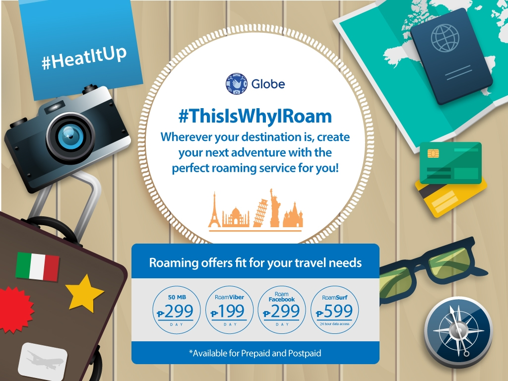 Tried and tested: Thumbs up for Globe Roaming