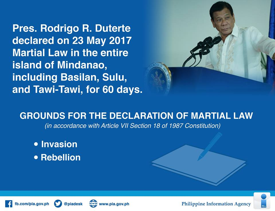 (UPDATED) Infographics: What you MUST know about Martial Law in Mindanao