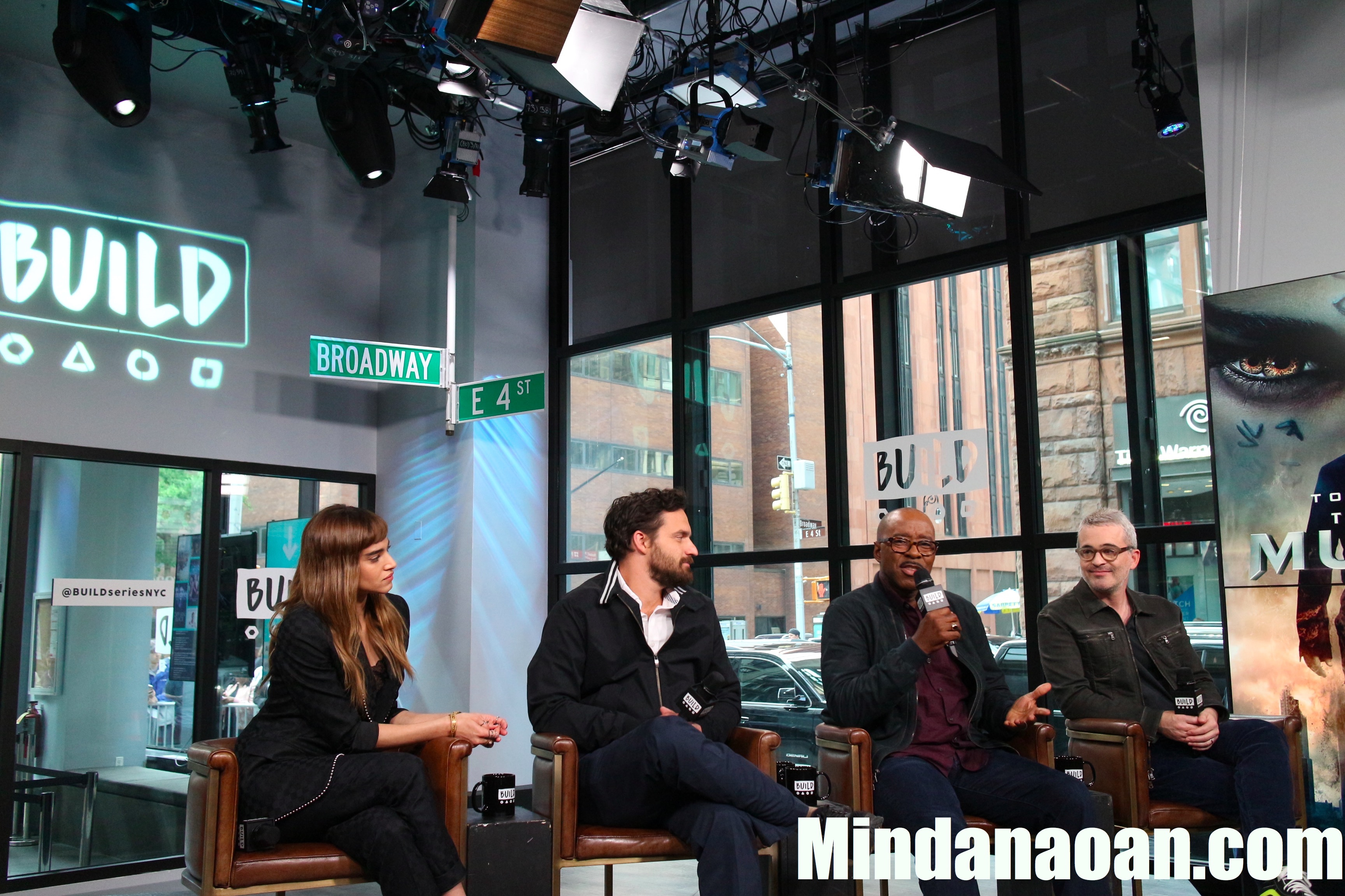 """Meeting the cast of """"The Mummy"""" in New York City"""