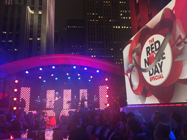 Raising $35 Million In An Hour | Red Nose Day New York 2017