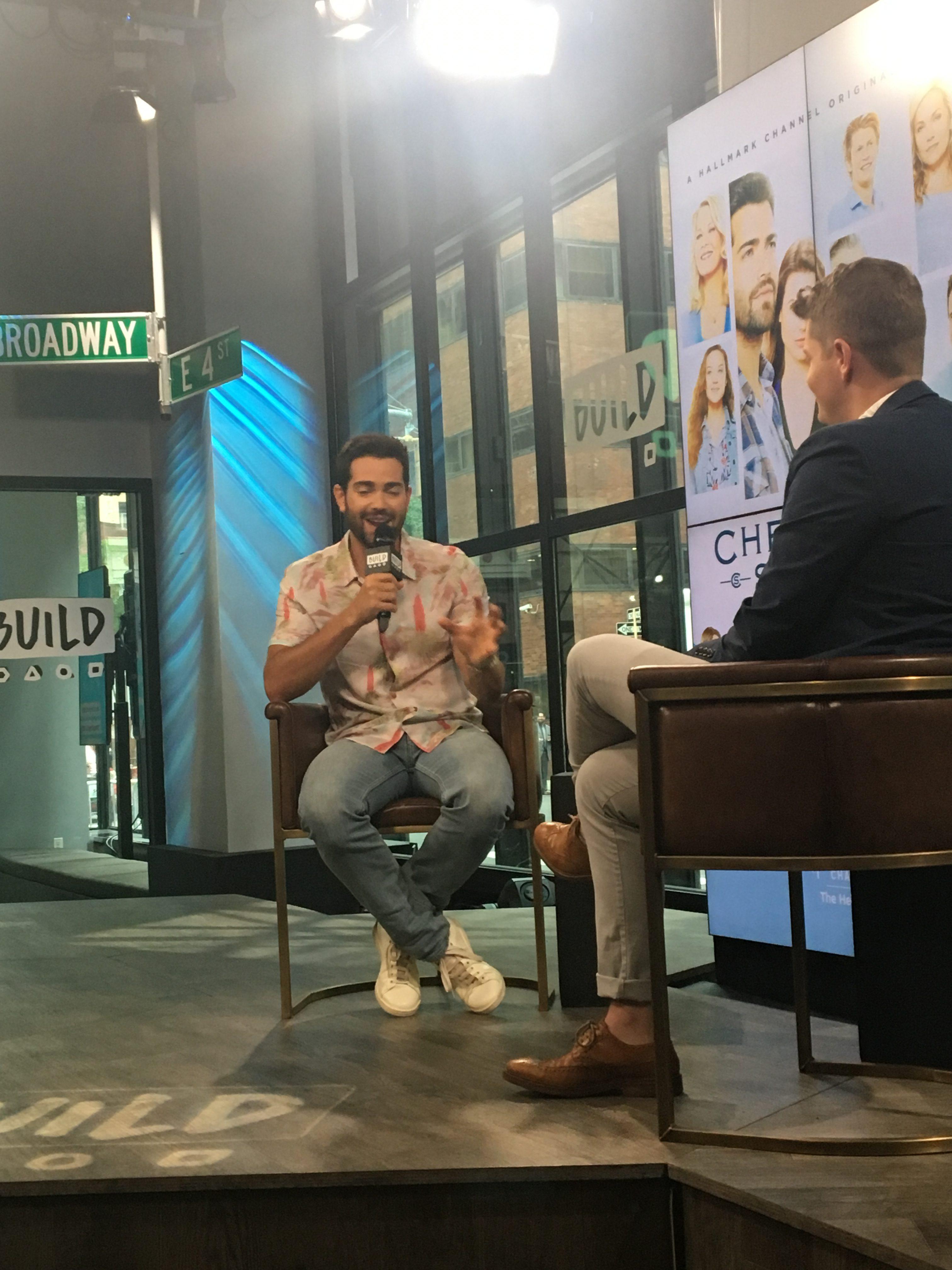 Meeting a Hollywood celebrity crush: Jesse Metcalfe @jessemetcalfe