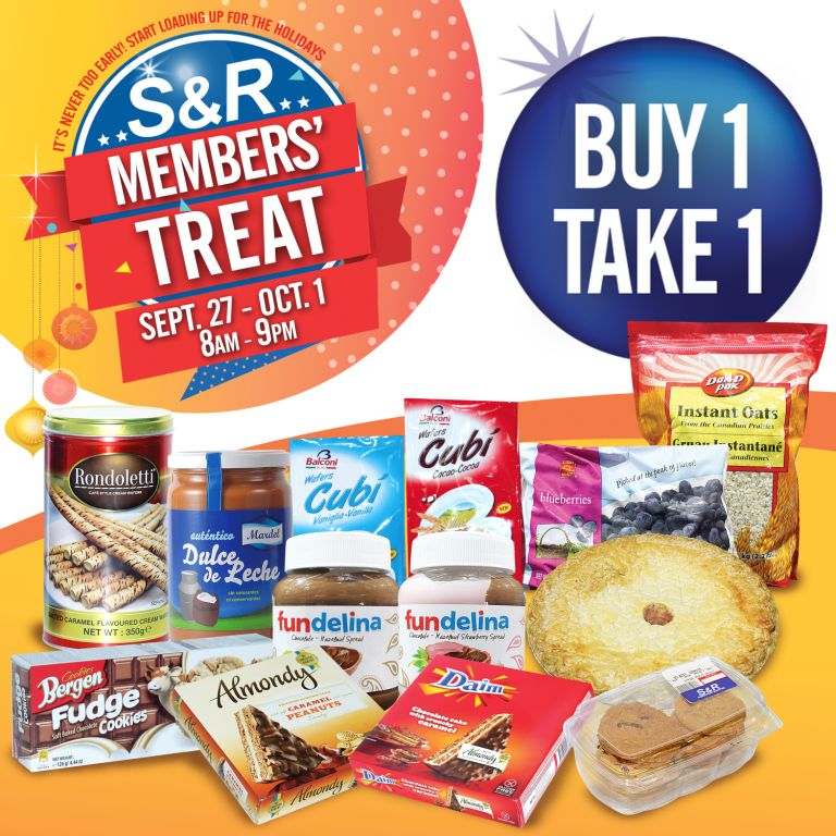 Why the S&R Members Treat event is the BEST time to go Christmas shopping