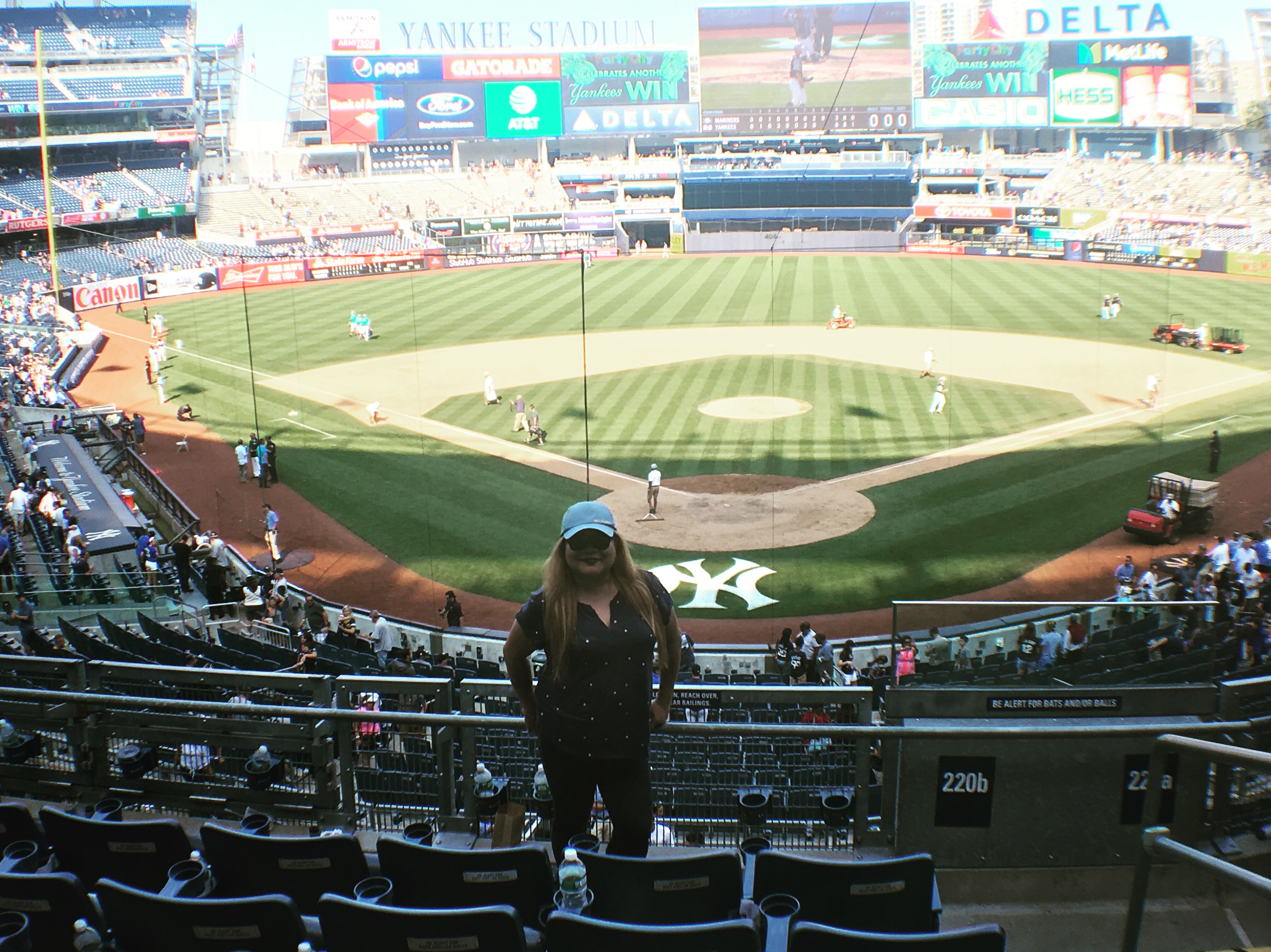 My Awesome New York Yankee Stadium Delta Sky360 Suite ...