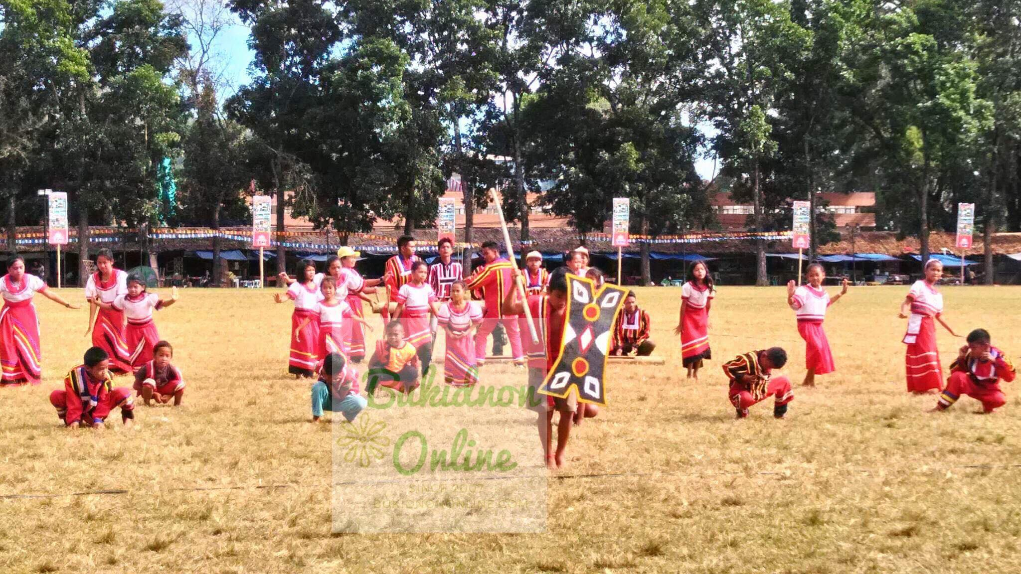 Beautiful Bukidnon tribal dance at the Kaamulan Festival 2018