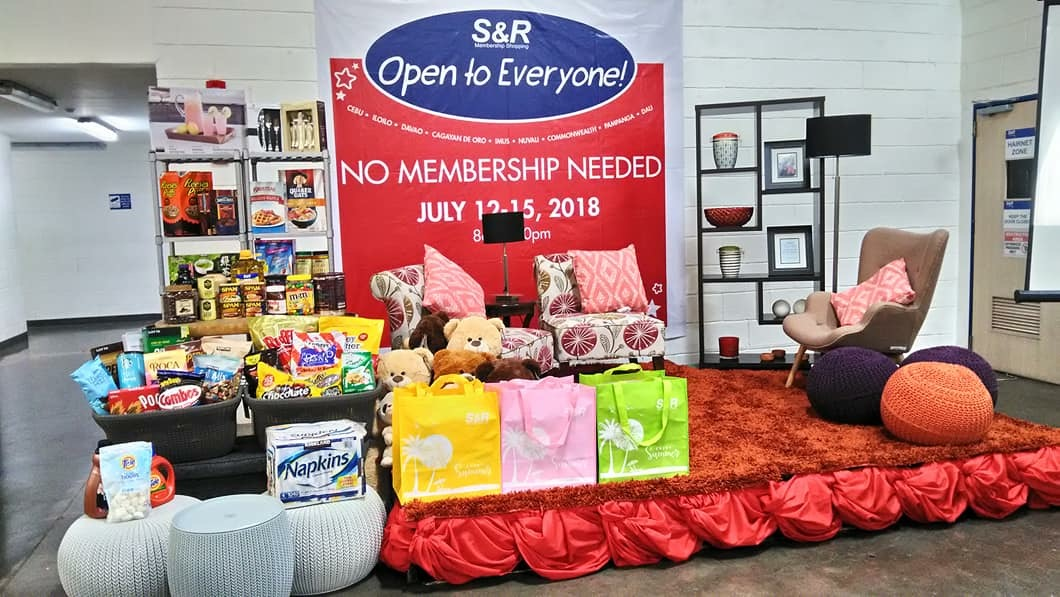 How to shop at S&R CDO without a membership card and get a FREE coupon