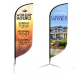 5 Tips for Choosing the Right Outdoor Flag Banner