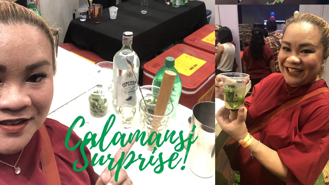 How to make Gin Calamansi