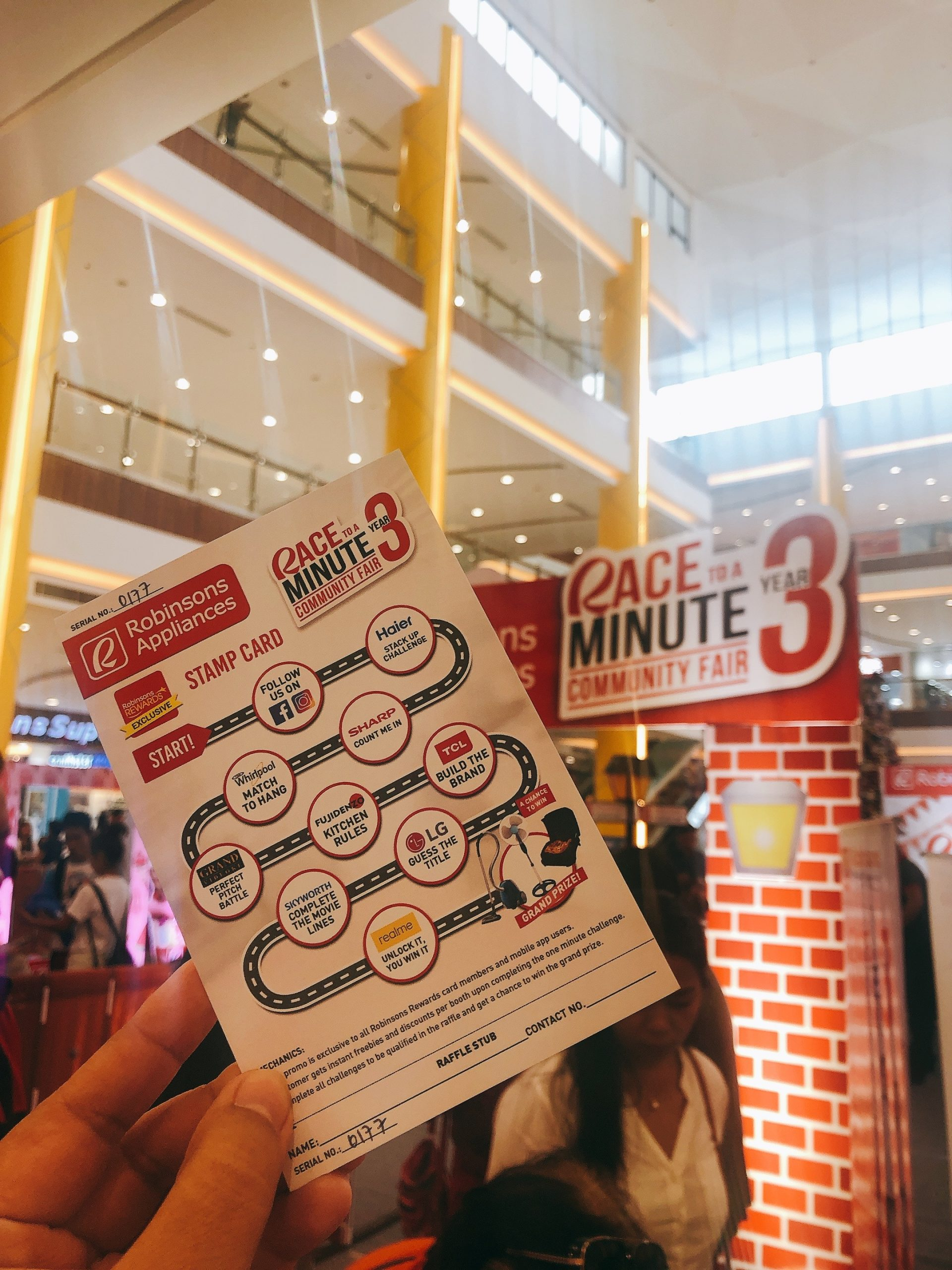 Robinsons Appliances made me do these fun 60-second challenges