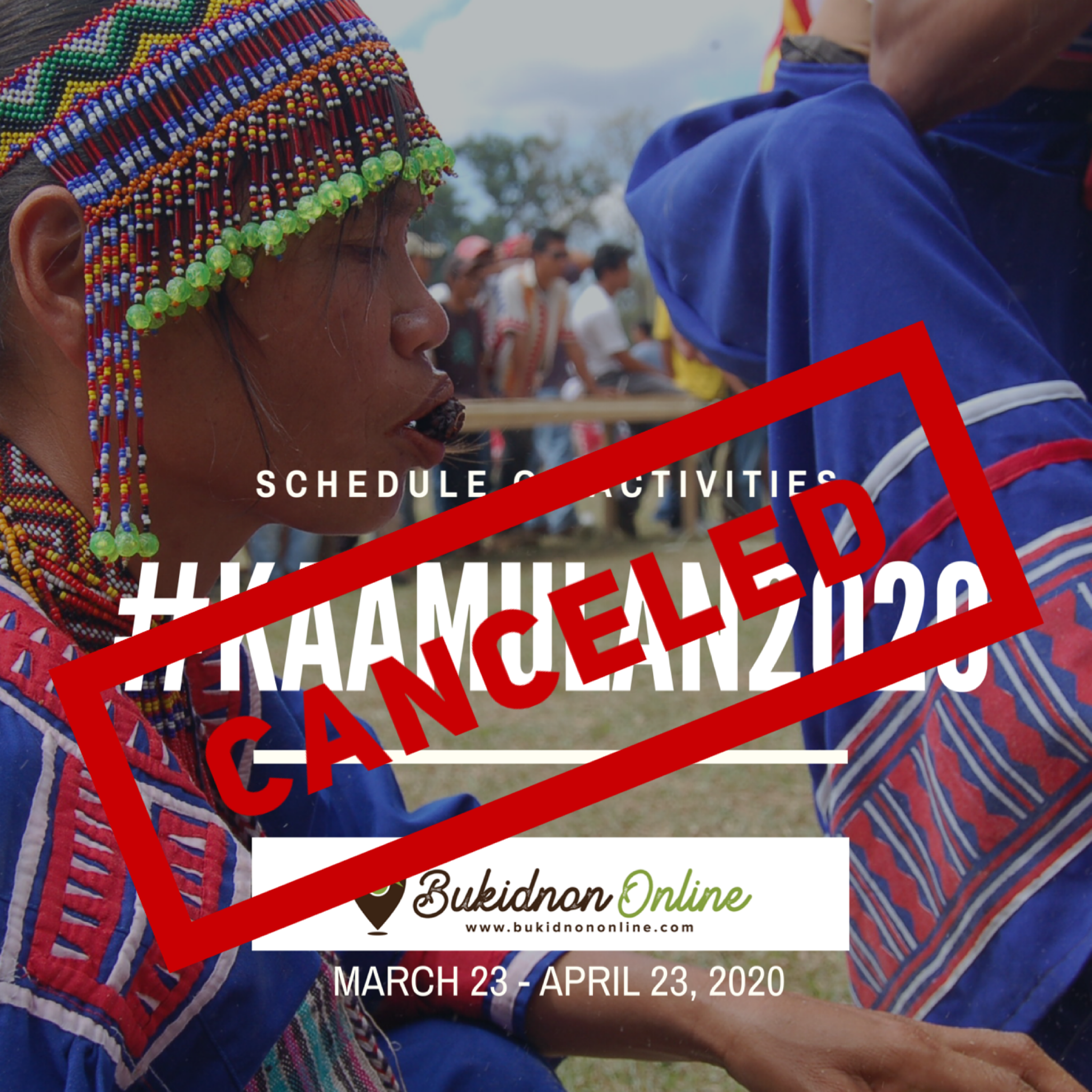 UPDATED: Kaamulan Festival 2020 in Bukidnon now canceled