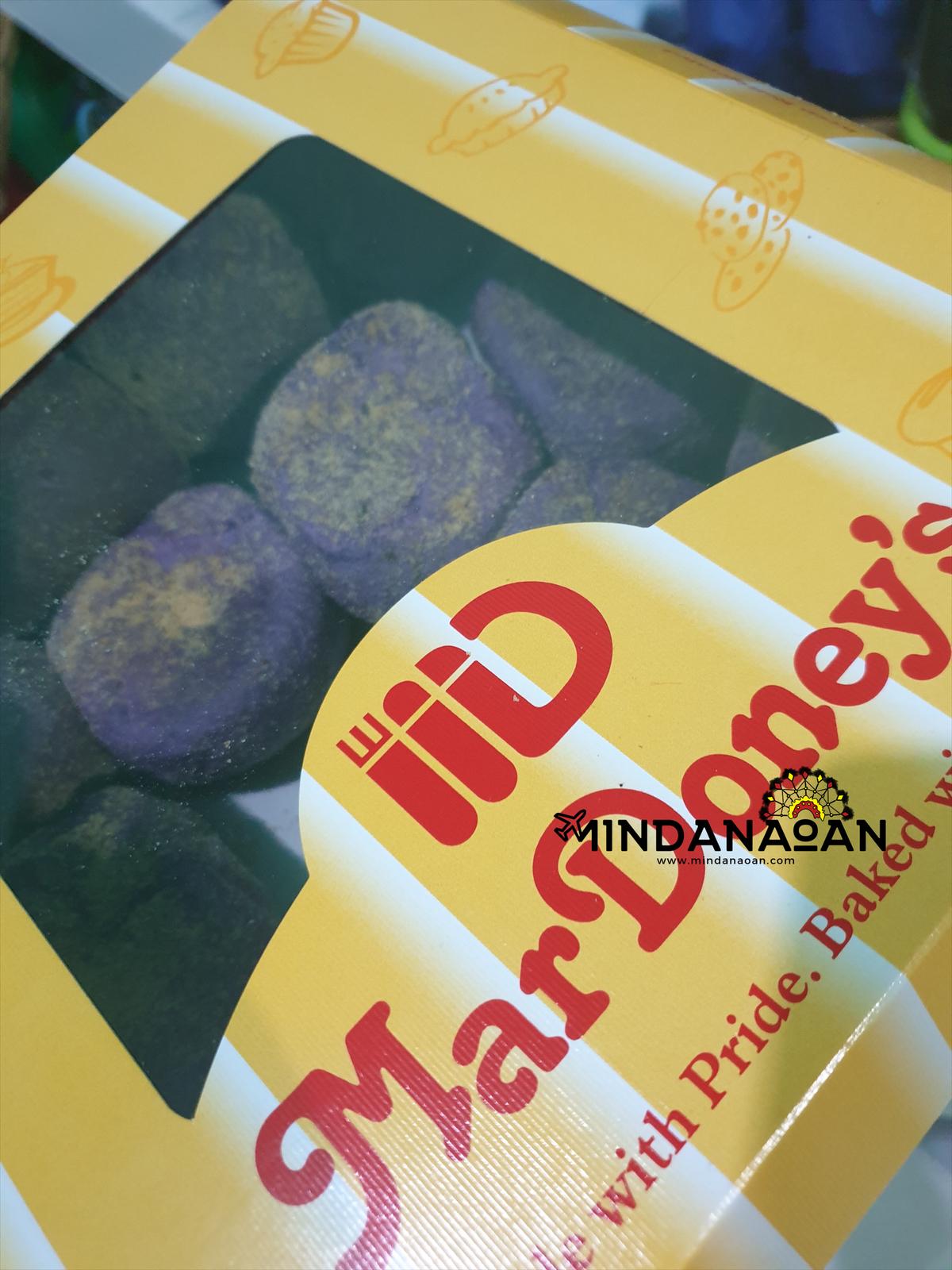 Try Mardoney's Bakeshop CDO ube cheese pandesal