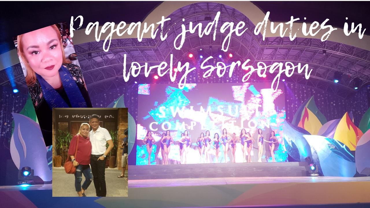I was a Miss Kasanggayahan pageant judge