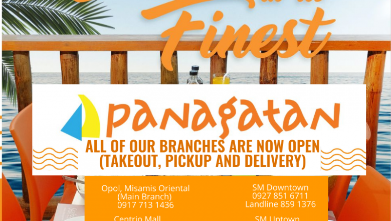 Panagatan Restaurant reopens all branches, offers 30 percent discount
