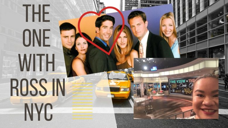 """I saw Ross of """"Friends"""" a.k.a. David Schwimmer in New York"""