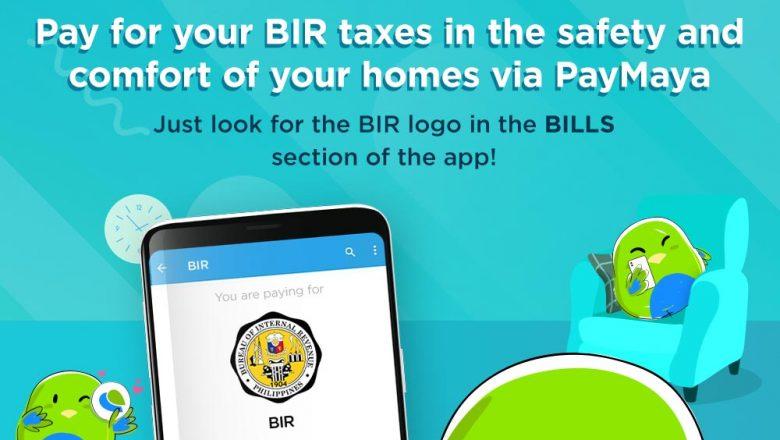 Easy cashless payments for BIR, SSS, Pag-ibig etc via PayMaya
