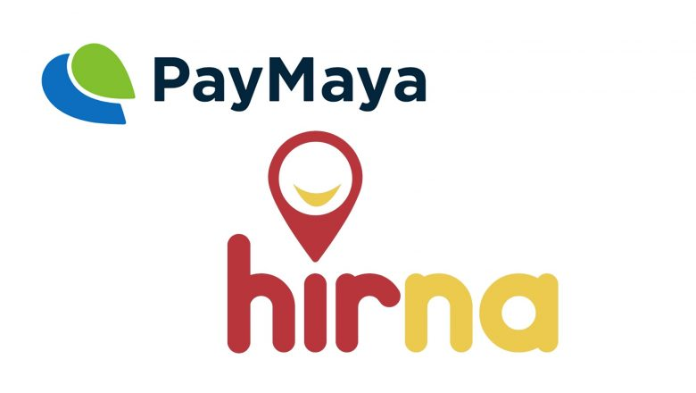 Cashless payment for your hirna taxi fare with PayMaya