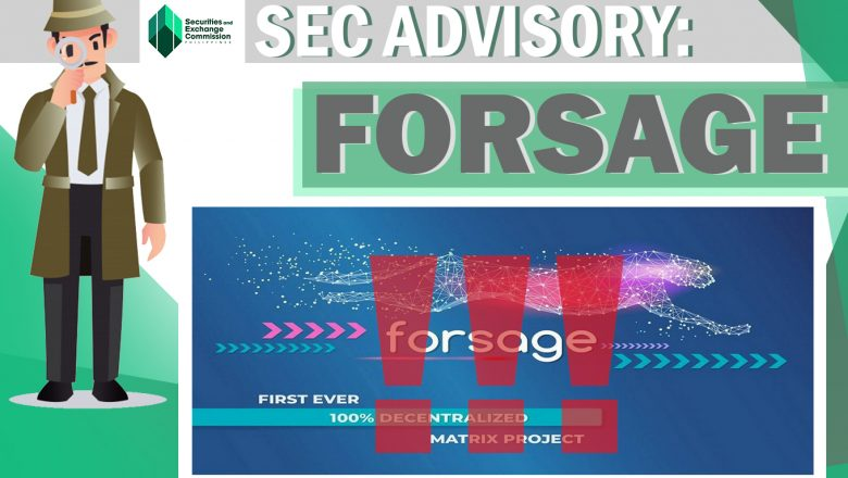 Investment scheme Forsage is illegal, says SEC