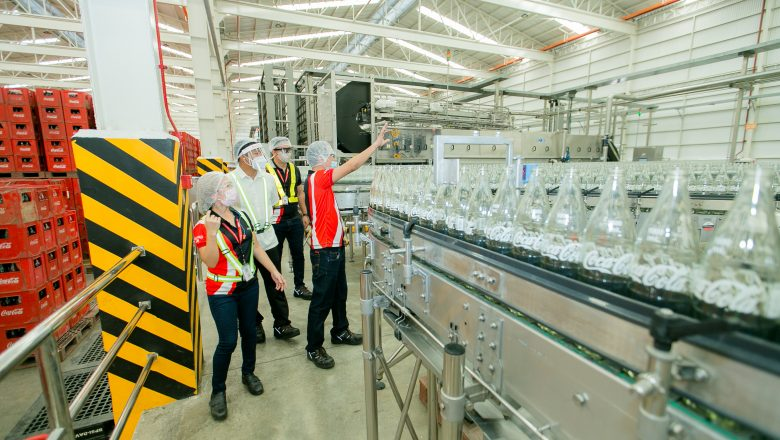 LOOK: New Coca-Cola manufacturing plant in Davao