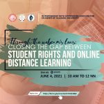 Webinar alert: Student rights and online distance learning
